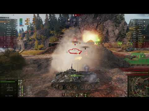 World Of Tanks | Тест FX-8350 + RX 570 [1080p 60fps]