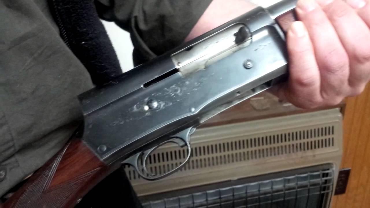 ken beam shows strange safety on old browning shotgun browning a5