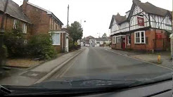 A Drive Through Pewsey, Wiltshire