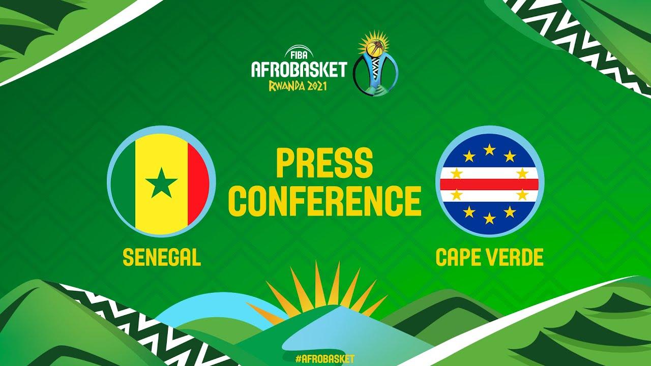 Senegal v Cape Verde - Press Conference - FIBA AfroBasket 2021
