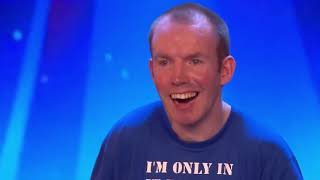 TOP 10 Funniest Comedians That Made SIMON COWELL Laugh on AGT & BGT   Got Talent Global chapter2
