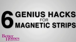 6 Genius Hacks for Magnetic Strips