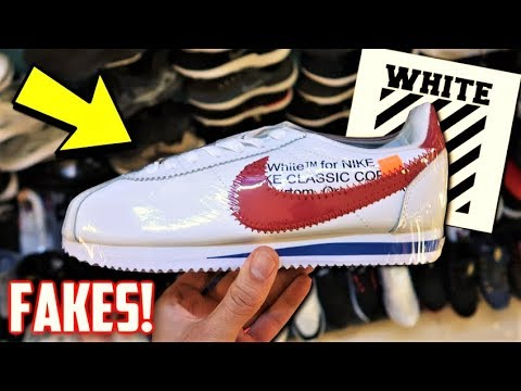 EVERY FAKE OFF-WHITE SNEAKER! Greenhills Philippines Collection!