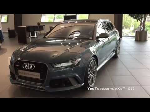 Audi Forum Neckarsulm - Polar Blue Metallic Audi RS6 Performance
