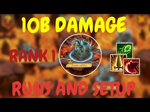 Archdemon L 10B Damage L Rank 1 L Using New Talents L Castle Clash
