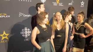 Degrassi Cast at the 2015 Canadian Screen Awards