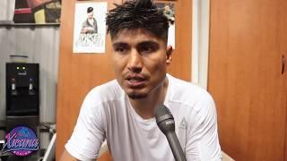 Mikey Garcia's Reaction to Pacquiao vs. Matthysse KO