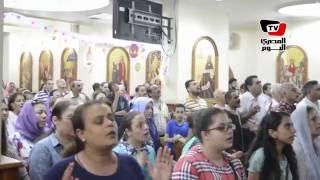 «مرقسية الإسكندرية» تقيم صلاة تضامناً مع أحداث المنيا