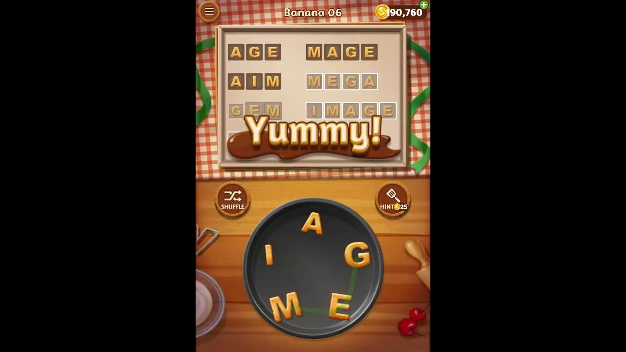 <b>Word Cookies</b> Banana Pack Level 6 Answers - YouTube