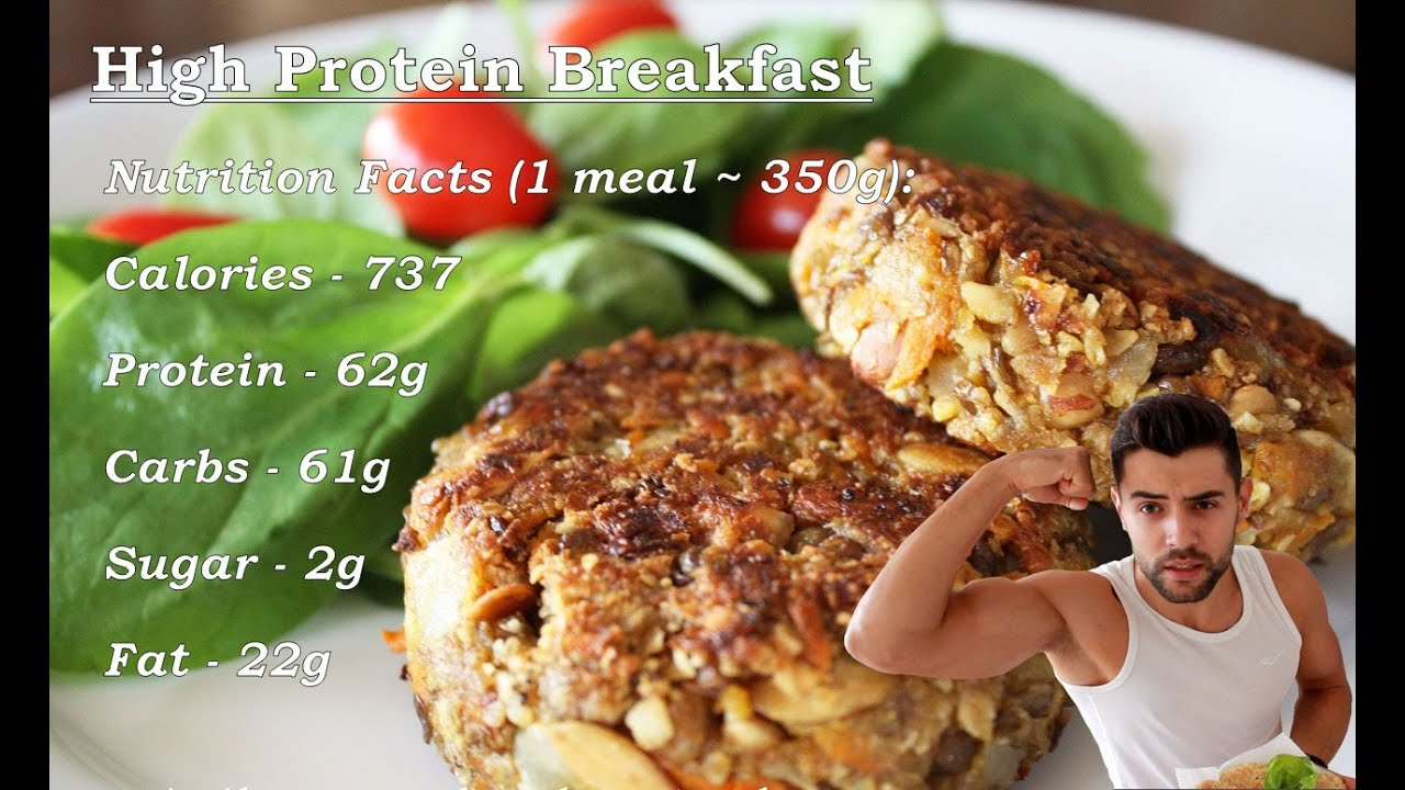 High Protein Oat Burgers - Muscle Building Healthy