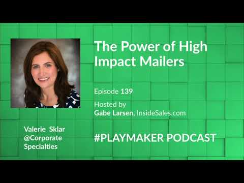 The Power of High Impact Mailers w/Valerie Sklar @Corporate Specialities
