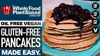 GLUTENFREE VEGAN PANCAKES » Light and fluffy pancakes you cannot live without!