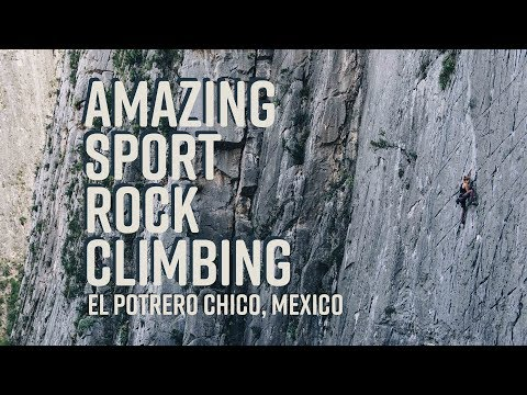 Sport Rock Climbing | El Potrero Chico, Mexico I Time Wave Z