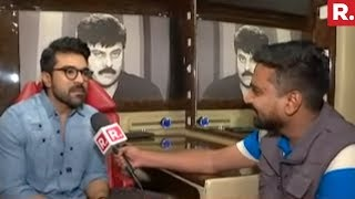Telugu Superstar Ramcharan Speaks On Rangasthalam Fever | Republic TV Exclusive