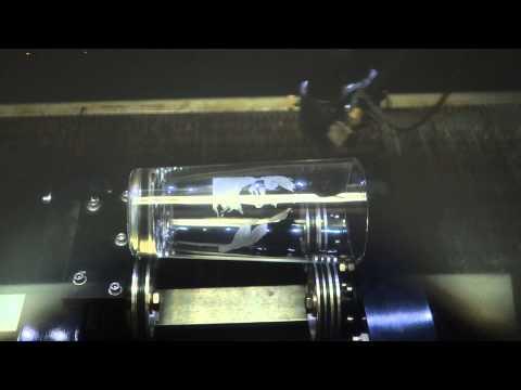 Laser Cut Glass 1