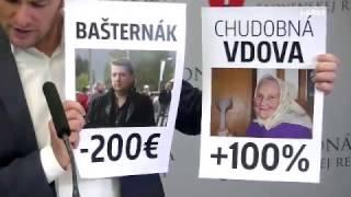 Prečo chudobná vdova zaplatí za vodu o 100% viac a Bašternák ušetrí 200 eur?