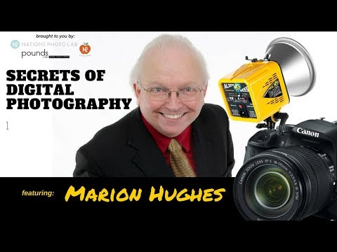 School Portrait Photography Tips Photography Webinar (2018) with Pro Photographer Marion Hughes