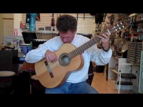 Hand-Made Flamenco Guitar by John Datlen Exclusive At ABC Music Store & Academy
