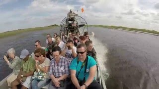 Airboat Tour - Gator Park - The Everglades