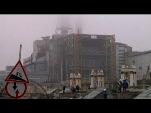 Roof Collapses At Chernobyl Nuclear Power Plant Youtube