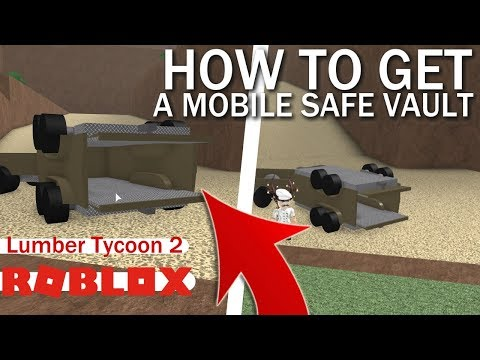 How To Make A Mobile Vault/Vessel | Lumber Tycoon 2 | ROBLOX