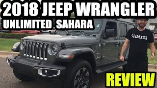 Westpointe CJD Ride Of The Week - 2018 Jeep Wrangler Unlimited Sahara