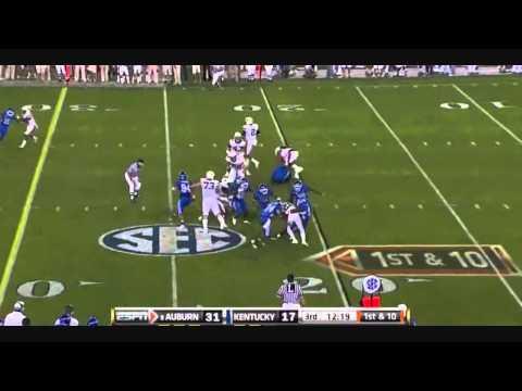 Danny Trevathan vs Auburn