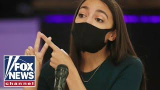 'The Five' condemn AOC's suggestion on government forces 'reigning in' the media