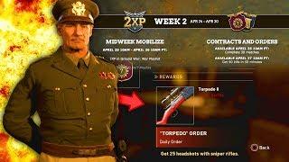 The New Free COD WW2 Heroic Kar98k is Here! // COD WW2 Blitzkrieg Event Week 2 Is Live!