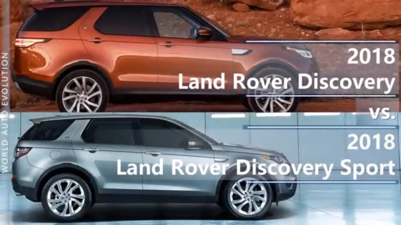 Range Rover Discovery Sport >> 2018 Land Rover Discovery vs Discovery Sport (technical ...