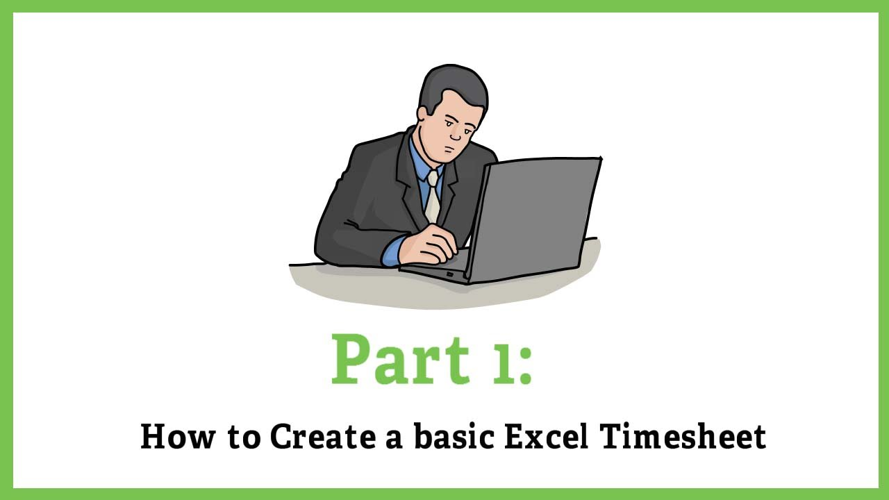Excel Timesheet Calculator - How to calculate hours in Excel