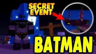 [NOVO SEGREDO MESMO] BATMAN VEM PARA PROTEGER MAD CITY | ROBLOX MAD CITY | o iBeMaine