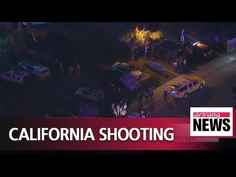 Ex-Marine kills 12 people at Californian bar on student night