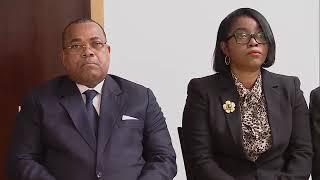 Prestation de serment du Ministre de la Défense Nationale du Gabon au Maroc
