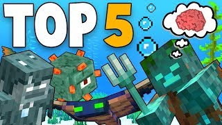 top 5 minecraft funny animations