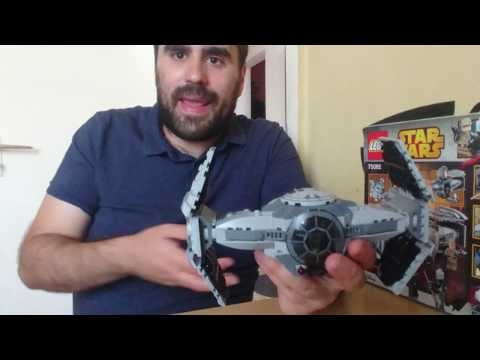 Heti Videó: 17# Lego Star Wars - 75082 Tie Advanced Prototype