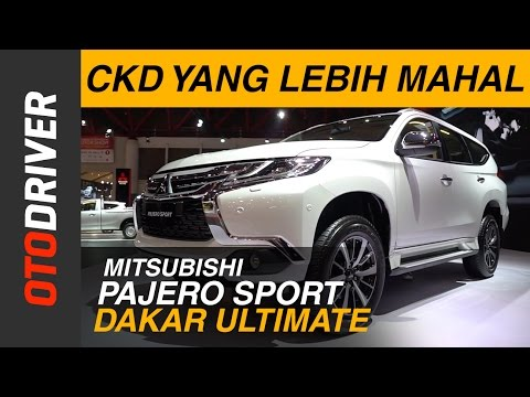 Mitsubishi All New Pajero Sport Dakar Ultimate 2017 First Impression Review Indonesia | OtoDriver