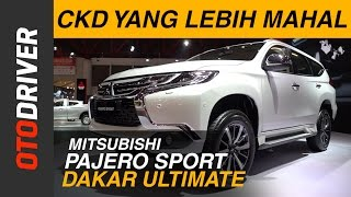 Video Mitsubishi All New Pajero Sport Dakar Ultimate 2017 First Impression Review Indonesia | OtoDriver download MP3, 3GP, MP4, WEBM, AVI, FLV Agustus 2018