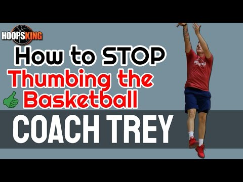 Coach Trey Shooting Tip #1: How to Stop Thumbing the Basketball on Your Shot