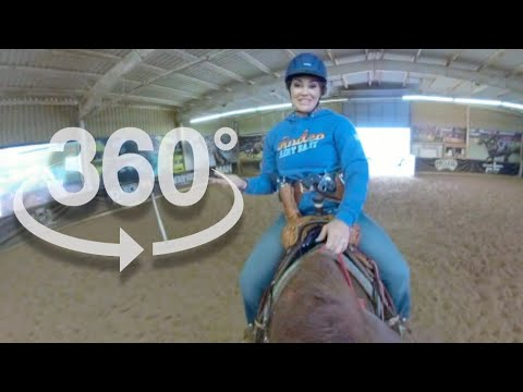 360 VIRTUAL REALITY HORSEBACK RIDING WITH FALLON TAYLOR