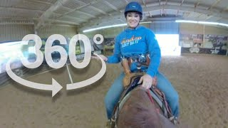 360 VIRTUAL REALITY HORSEBACK RIDING WITH FALLON TAYLOR