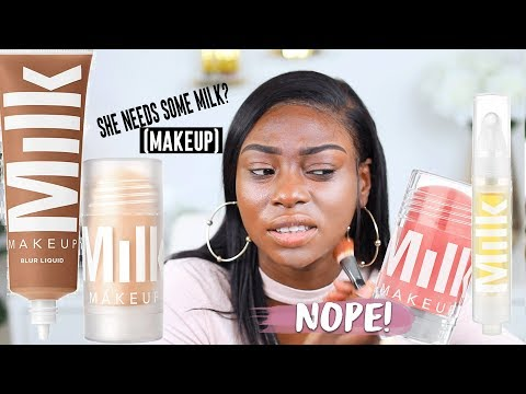 IM NOT SURE ABOUT THIS...MILK MAKEUP FIRST IMPRESSIONS AND REVIEW...HMMM