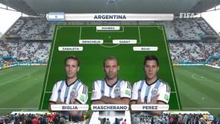 Netherlands vs Argentina - Teams Line-Ups EXCLUSIVE