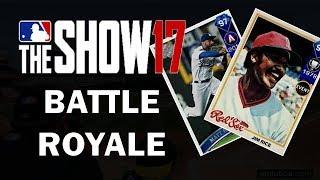 Battle Royale Draft!! Better than Fortnite!! MLB 17 Battle Royale