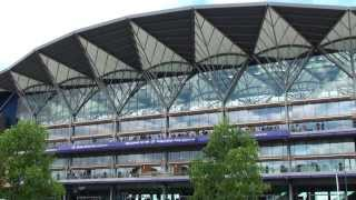 (HD)イギリス旅行記5 - 競馬発祥の地・英国のアスコット競馬場