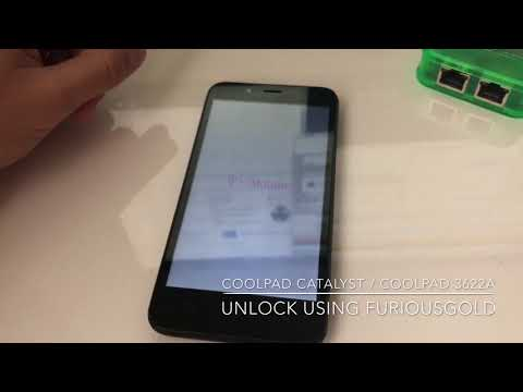 COOLPAD CATALYST / COOLPAD 3622A UNLOCK USING FURIOUSGOLD