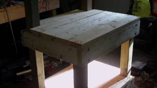 Rons Projects - The Heavy Duty Workbench