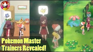 Pokemon Let's GO Master Trainers Explained