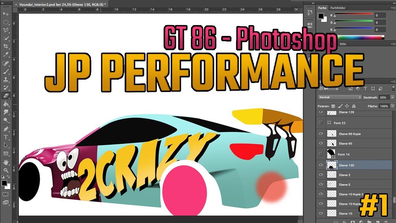 Jp Performance Gt86 Photoshop Wallpaper Part1