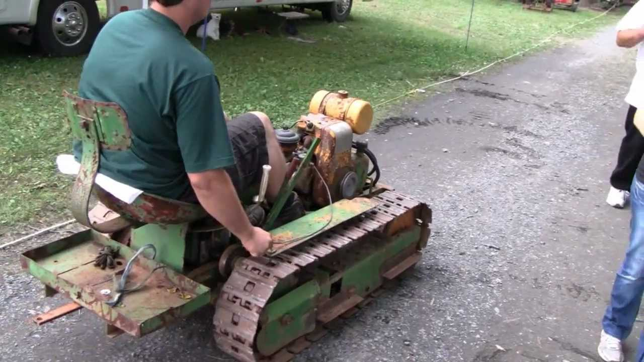 MEAD MINI DOZER TEST DRIVE